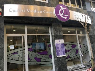 Fachada Centro Médico Gros Donosti San Sebastián