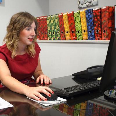 Nuestra compañera, Izaro, de Estética Centro Médico Gros Donosti San Sebastian